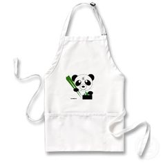 Panda Apron: Makes Cooking FUN!