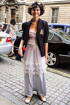 long skirt :)
