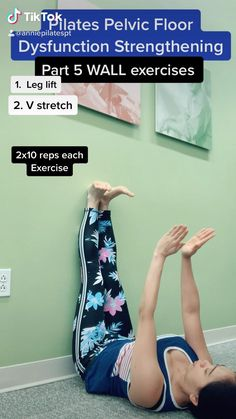 Fitness Workouts, Pilates Workout Videos, Floor Workouts, Fitness Workout For Women, Pilates For Beginners, Gym Workout For Beginners, Wall Workout, Wall Exercise, Diástase Abdominal