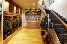 Barbour flagship store, Tokyo