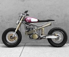 This unique scrambler motorcycle accessories is surely an inspirational and outstanding idea Tracker Motorcycle, Moto Bike, Cafe Racer Motorcycle, Motorcycle Design, Bike Design, Custom Motorcycles, Custom Bikes, Cars And Motorcycles, Cafe Bike