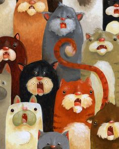 by Tim Beard. Is this a cat choir? I am pleased.