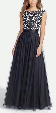 Beautiful Prom Dress, black prom dresses a line prom dress tulle prom dress lace prom dresses 2018 formal gown cap sleeves evening gowns lace party dress vintage prom gown for teens Meet Dresses Lace Party Dresses, Black Prom Dresses, A Line Prom Dresses, Tulle Prom Dress, Elegant Dresses, Pretty Dresses, Beautiful Dresses, Lace Dress, Short Dresses