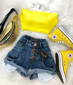 Stylish Outfits for Teens Girls Fashion Clothes, Teen Fashion Outfits, Cute Fashion, Look Fashion, Outfits For Teens, Fashion Moda, Fashion Beauty, Cute Summer Outfits, Cute Casual Outfits