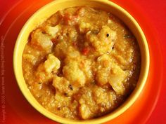 Cauliflower Dal with Panch Phoran
