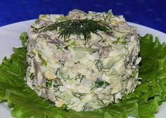 Самые вкусные рецепты: Мясной салат с огурцом