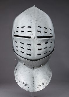 Tournament Helm | possibly British or Flemish | The Met