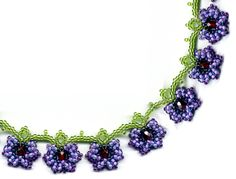 Flower Vine Necklace - Item Number 8291