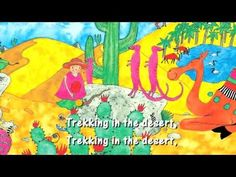 ▶ Walking Through the Jungle - YouTube - Great story song for different locations: Jungle, ocean, mountains, icebergs, desert. For more pins like this visit: http://pinterest.com/kindkids/music-and-videos-charlottes-clips/