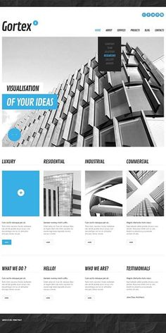 Who loved this design?   Architectural Bureau WordPress Theme CLICK HERE! live demo  http://cattemplate.com/template/?go=2d4MmYu