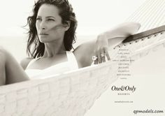 Christy Turlington for One&Only Resorts Campaign - http://qpmodels.com/american-models/christy-turlington/4581-christy-turlington-for-oneonly-resorts-campaign.html