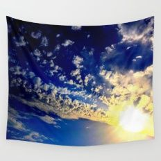 Sun Calling Wall Tapestry
