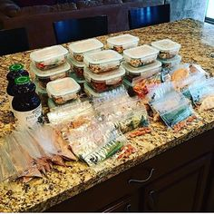 Heres 36 meals intra and post workout carbs and protein for 8 days and bedtime protein for 8 days prepped by @crossfitkristina . With this sort of dedication and purpose theres no doubt these meal preps tasted extra good! - No matter how hard youre working in the gym results come mainly from the kitchen! Get in control of what goes on your plate by downloading @mealplanmagic! It will save you time planning grocery shopping and cooking food in bulk. Best part  it can accommodate you and your…