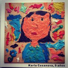 Niños contaron historias a través de obras de arte a base de plastilina.