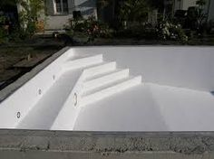 "Suchergebnisse für ""pool stair with bench"" - My WordPress Website Small Swimming Pools, Small Pools, Outdoor Pool, Indoor Outdoor, Oberirdischer Pool, Piscina Rectangular, Piscine Diy, Pool Steps, Building A Pool"
