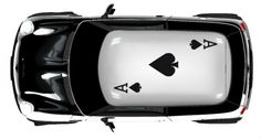Car Decal #ace of spades #ace #black ace