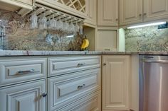 Browse Our Latest Completed Cream Maple Glaze Kitchen Cabinets Photos, Cream  Maple Glaze Pictures For Your Kitchen Cream Maple Glaze Design, ...