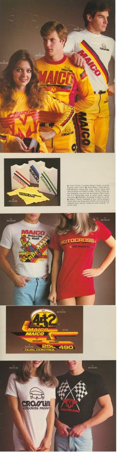 """ Motocross Shirts, Vintage Motocross, Old Images, Bmx, Miami, Racing, Motorcycle, Passion, Memories"