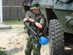 Swedish army.
