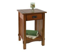 End Table, Antique Oak by Enitial Lab. $98.02. Mission style end table ...