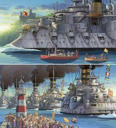 01_Howl's-battleships.jpg (550×608)