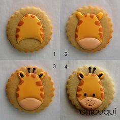 Cookies For Kids, Fancy Cookies, Iced Cookies, Sugar Cookies, Cookies Et Biscuits, Cookie Frosting, Royal Icing Cookies, Cupcakes, Cupcake Cookies