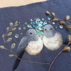 Волшебная вышивка Mayuka Morimoto Oyanagi. Продолжение - Ярмарка Мастеров - ручная работа, handmade