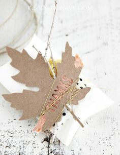 Janna Werner: gift wrapping inspiration | 6 easy to make wrappings - Inspiration Ave