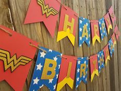 Birthday Woman Party Etsy Ideas For 2019 Wonder Woman Birthday, Wonder Woman Party, Birthday Woman, Wonder Woman Cake, Happy Birthday, 4th Birthday Parties, Birthday Ideas, 5th Birthday, Cake Birthday