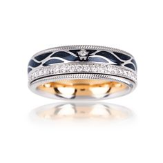 Cellini Jewelers Wings of the Night' Ring by Wellendorff