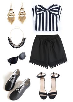 Sassy summer outfit!