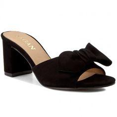 Șlapi SAGAN - 2920 Czarny Welur Heeled Mules, Shoes, Fashion, Moda, Zapatos, Shoes Outlet, Fashion Styles, Shoe, Footwear