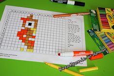 Kodowanie przez kolorowanie | Kreatywnie w domu Puzzle, Diagram, Puzzles, Puzzle Games, Riddles