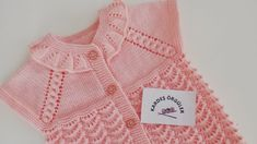 Baby Dress Patterns, Baby Knitting Patterns, Crochet Tote, Crochet Baby, Kids And Parenting, Sweaters, Women, Dresses, Tops