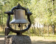 Dinner bell at Lake Creek Youth Camp in Oregon (1) From: Lake Creek Camp, please visit