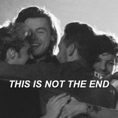 We can make it you know it you know<<<YOU AND ME, GOT A WHOLE LOT OF HISTORY!We love you boys and we are here with you, and yes, this is not the end.