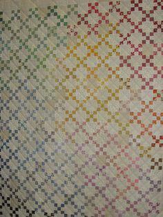 Single Irish chain quilt