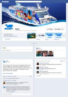 Timeline Facebook: MOBY