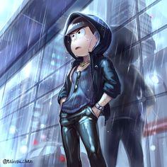 「喧騒と通り雨とカラ松」/「タコス」のイラスト [pixiv]