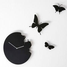 15 Wonderful Gift Ideas for Butterfly Lovers from Clock to Stylish Purse...