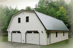 Gambrel Attic Garage