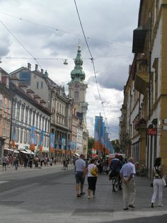 Austria-Graz. Calle Herrengasse.