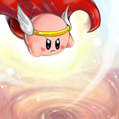 HiJump Kirby by ~Fushidane on deviantART
