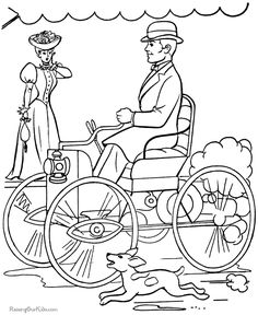 12 best henry ford first car in 1896 images antique cars vintage 1956 Chevy Nomad henry ford first car history kid coloring pages history for kids us history