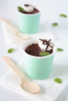Hungry Cravings: Second Blogiversary and Mint Chocolate Pot de Crème