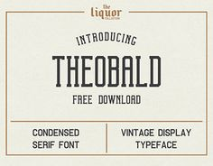 "Check out new work on my @Behance portfolio: ""Theobald Clean FREE FONT"" http://be.net/gallery/57210587/Theobald-Clean-FREE-FONT"
