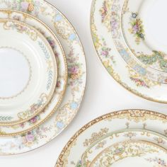 Instagram photo by casadeperrin • A closer look at some of the patterns that make up our Le Melange Vintage China