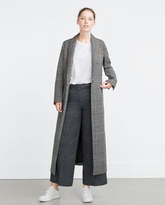 Image 1 of LONG COAT from Zara