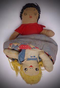 VINTAGE Humpty Dumpty giocattolo Knitting Pattern c1940s