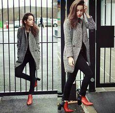 #fashion #winter #girly